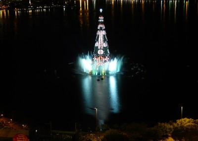 Fonte Luminosa Flutuante no Rio de Janeiro, Lagoa Rodrigo de Freitas