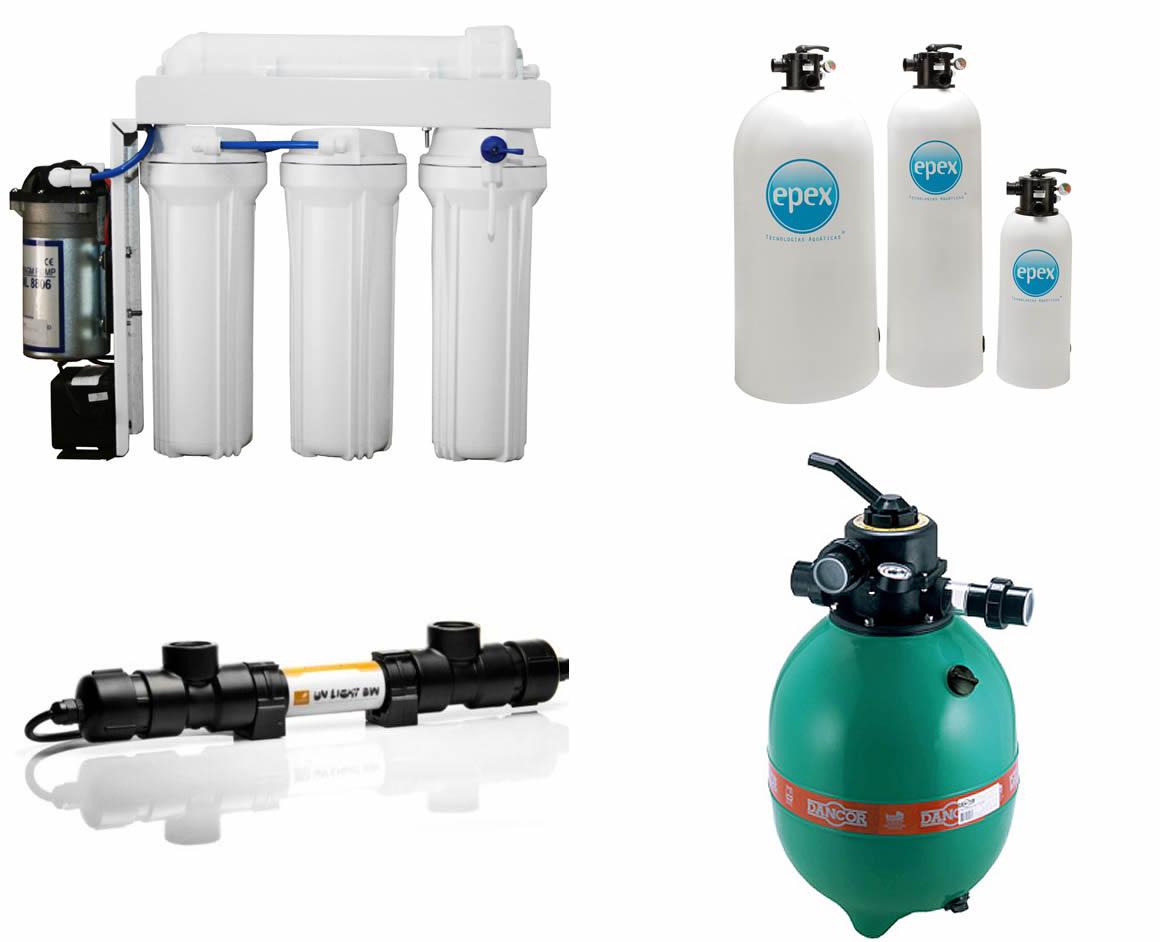 Jato D'água Fontes Luminosas - Tratamento de Água