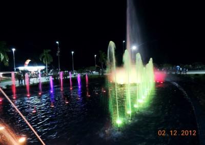Fontes Automatizadas em Manaus, Praça Heliodoro Balbi e Praça da Ponta Negra